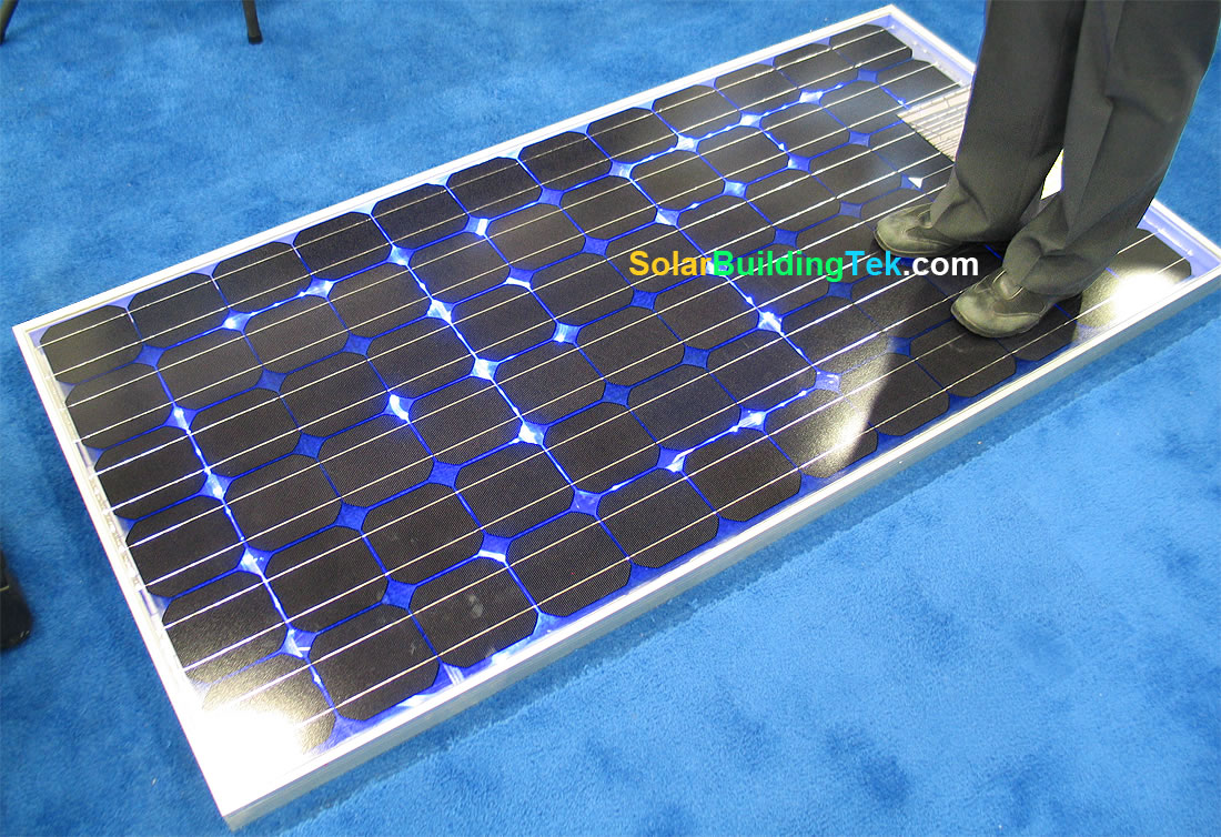 dual template glass super strong solar panels. Black Bedroom Furniture Sets. Home Design Ideas