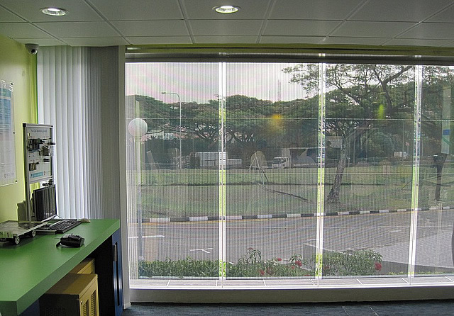 See Through Curtains highly see-through transparent solar curtains