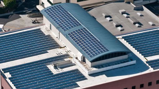 Commercial Large Space Amp Manufacturing Building Solar Pv
